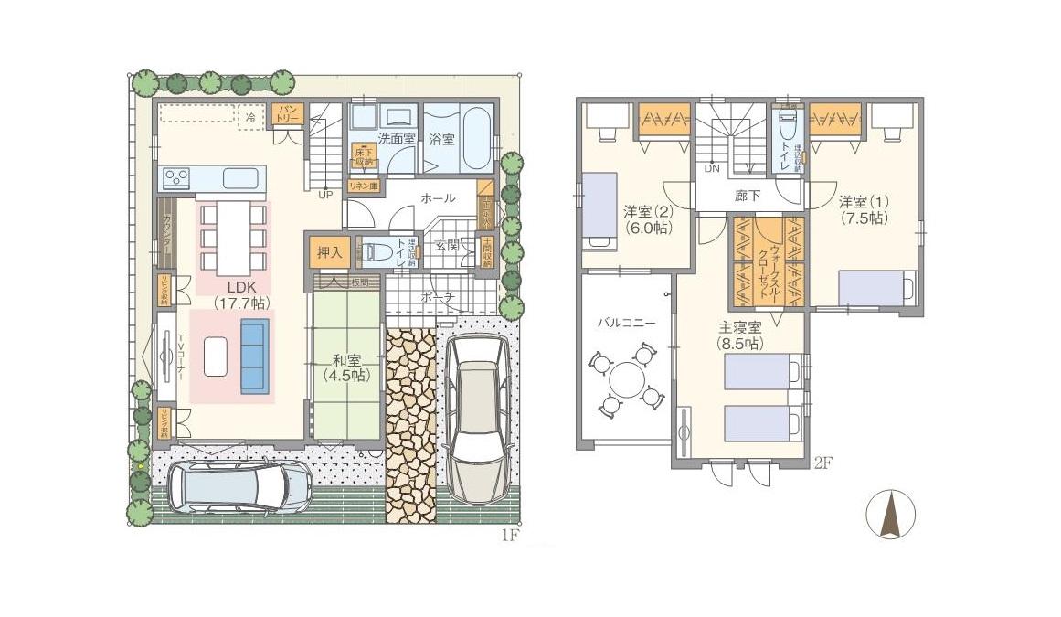 モデルハウス2邸、5/27(土)~OPEN!!