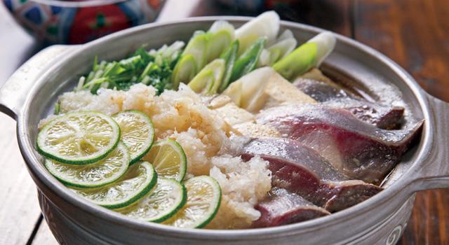 ぶりと豆腐のみぞれ鍋