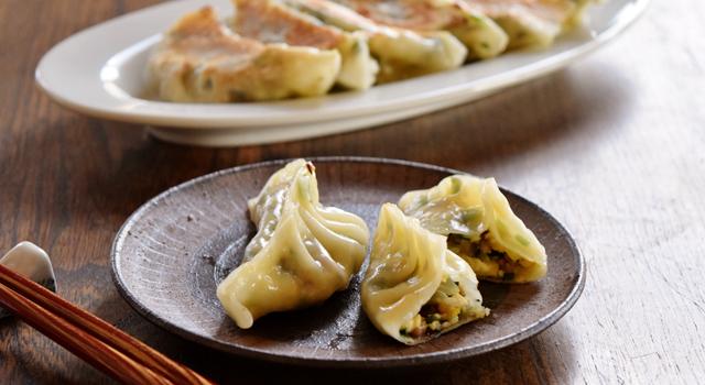 豆腐と野菜のベジ餃子